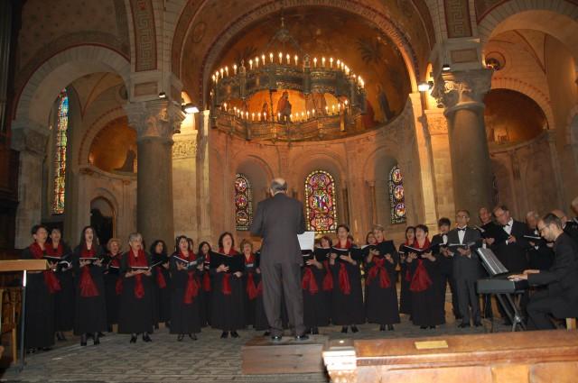 Concert à l'Abbaye d'Ainay, Lyon 2ème – 25 mai 2014