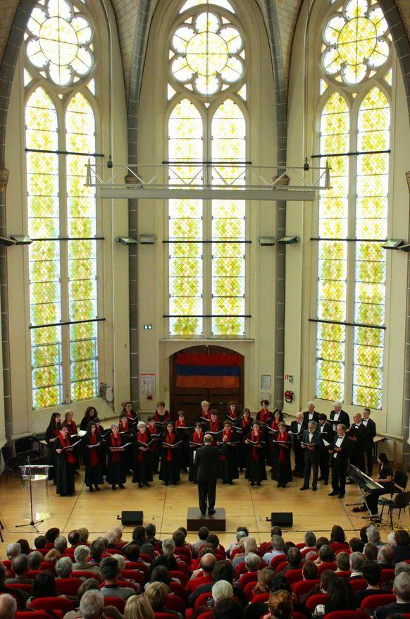 Concert à Clermont Ferrand le 19 avril 2015