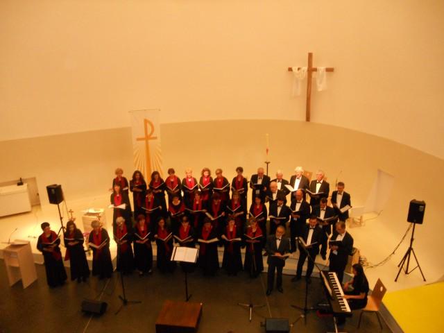 Concert en l'église St Thomas de Vaulx en Velin le 25 avril 2015