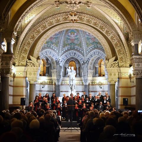 Concert dans la crypte de la basilique de Fourvière à Lyon le 17 octobre 2015
