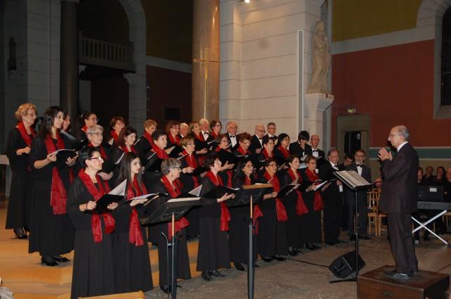 Concert en l'église St Augustin à Lyon le 15 novembre 2015