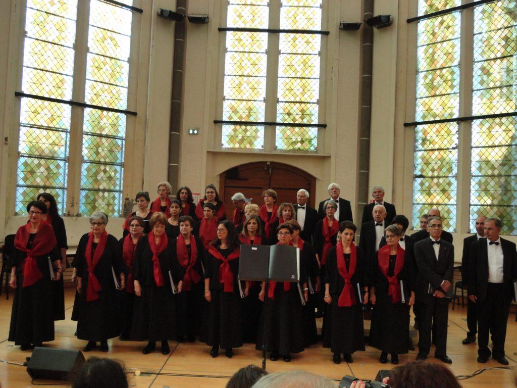 Concert en la Chapelle des Cordeliers à Clermont-Ferrand le 16 octobre 2016