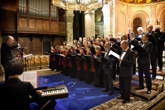 Concert en l'abbaye d'Ainay à Lyon le 3 décembre 2017, avec Lyuba Zhecheva au piano