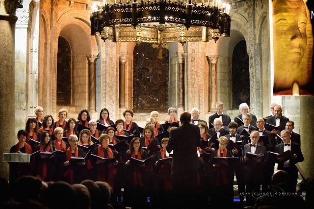 Concert en l'abbaye d'Ainay à Lyon le 3 décembre 2017